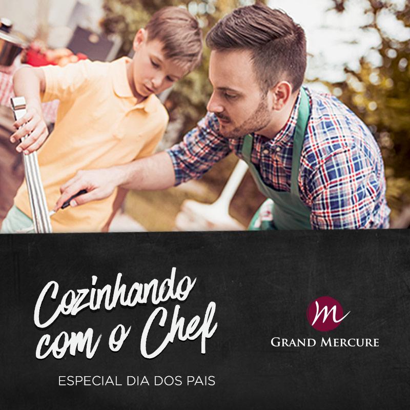 Cozinhando com o Chef Especial Dia dos Pais